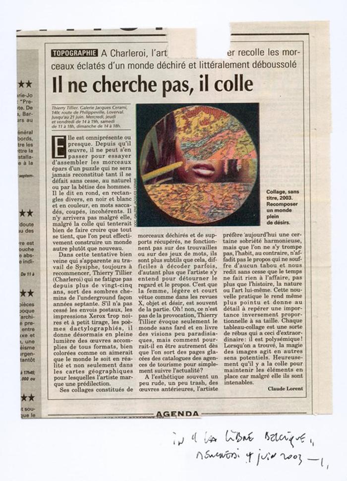 Thierry Tillier – La Libre Belgique