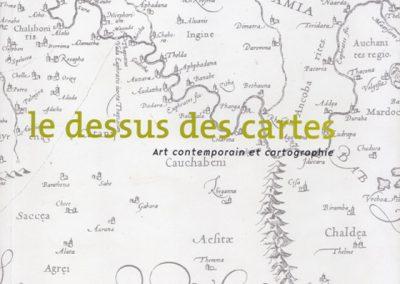 Le dessus des cartes – Art et cartographie