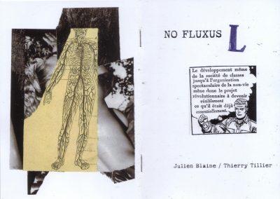 NO FLUXUS / L – Julien Blaine / Thierry Tillier