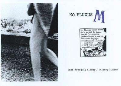 NO FLUXUS / M  – Jean-François Flamey / Thierry Tillier