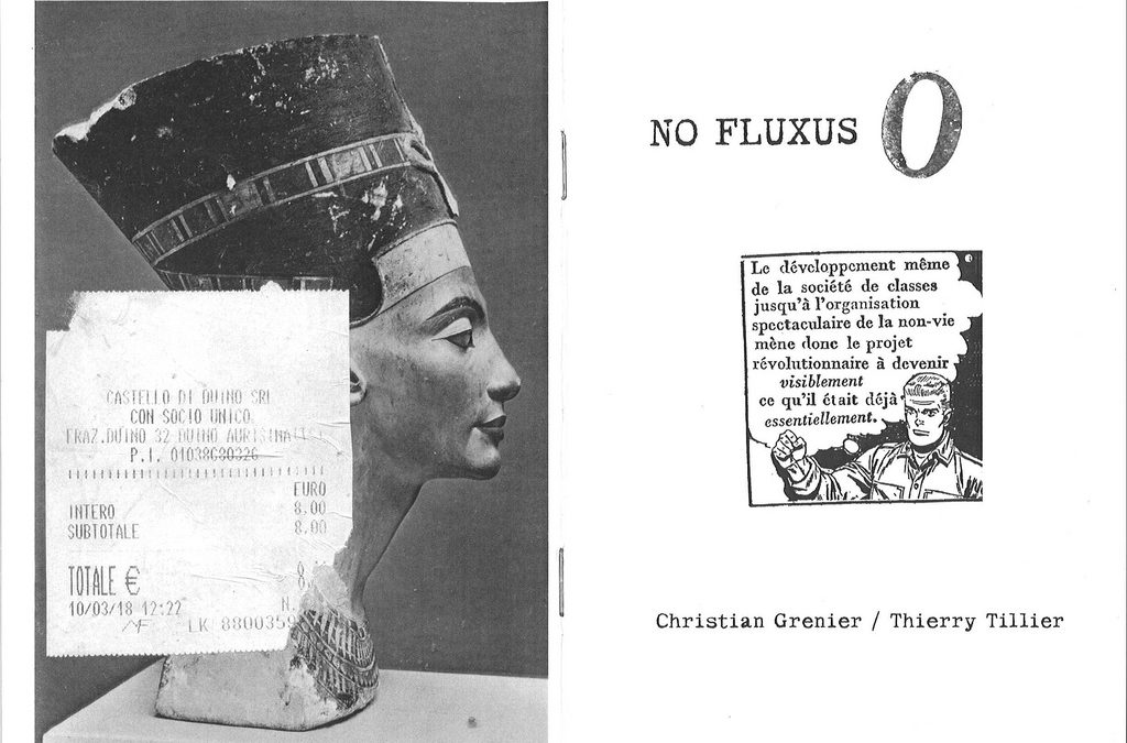 NO FLUXUS / O – Christian Grenier – Thierry Tillier