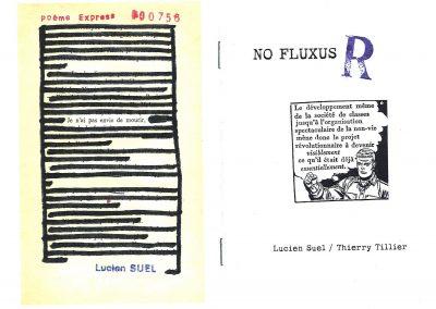 NO FLUXUS / R – Lucien Suel / Thierry Tillier