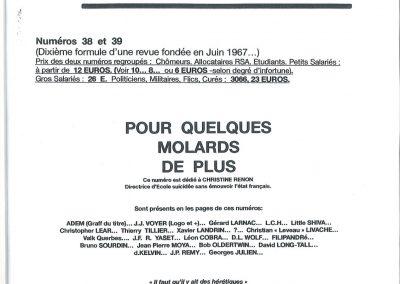 QUETTON L'ART TOTAL n°s 38 et 39